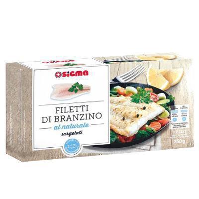 sigma filetti di branzino naturale gr.250