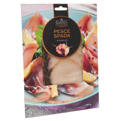 gusto & passione pesce spada affumicato gr.100