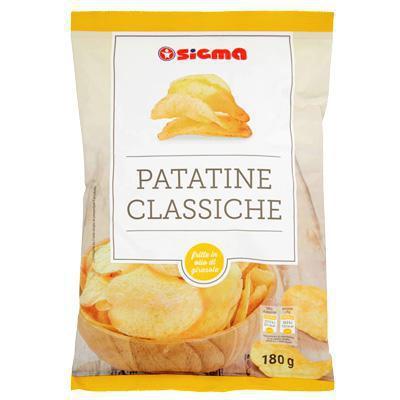 sigma patatine  classiche gr.180