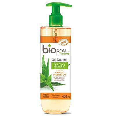 biopha gel doccia albicocca  ml.400