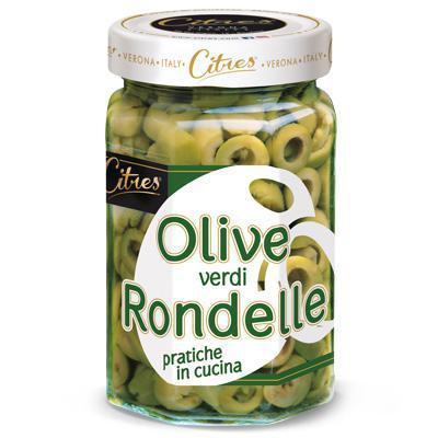 citres olive verdi rondelle gr.290