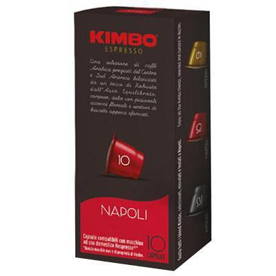 kimbo caffe espresso napoli 10 capsule