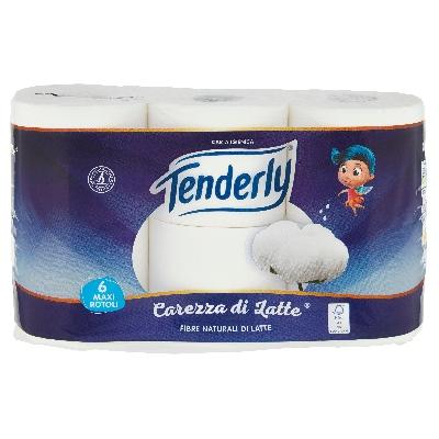 tenderly carta.igienica carezza di latte 6 rotoli