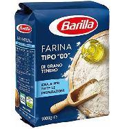 barilla farina grano tenero tipo 00  per tutte le preparazioni  kg.1