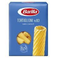 barilla tortiglioni n.83 gr.500