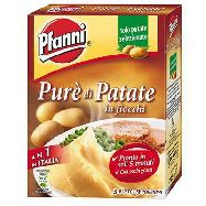 pfanni pure' di patate in fiocchi gr.75x3 buste