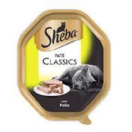 sheba pate classic con pollo  vaschetta gr.85
