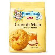 mulino bianco biscotti cuor di mela gr.300