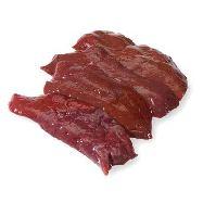 fegato di vitellone al kg.