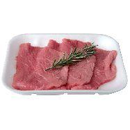 fettina braciole da fritto bovino al kg