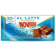 novi tavola cioccolato al latte gr.100