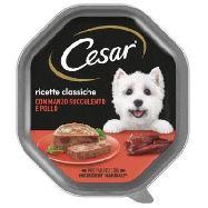 cesar ricette classiche delicato pate` con con manzo e pollo  gr.150