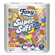 foxy carta igienica bianca x 4 rotoli super soft