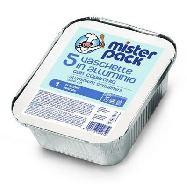misterpack vasche alluminio con coperchio 5 pezzi 1 porzione
