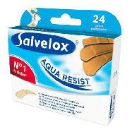 salvelox cerotti aqua resist assortiti x24