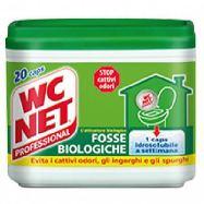 w.c. net fosse biologiche gr.300 caps. 20
