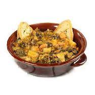 minestra di pane al kg. piatto tipico toscano