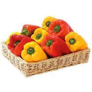 peperoni gialli/rossi al kg