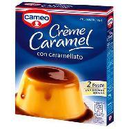 cameo budino crem caramel con caramello gr.100x2