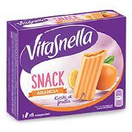 saiwa vitasnella snack arancia gr.162