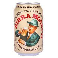 moretti  birra lattina cl.33