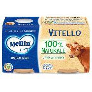 mellin omogenizzato vitello gr.80x2 dal 4° mese
