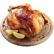 pollo arrosto intero al pezzo