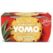 yomo yogurt ananas gr.125x2 100% naturale