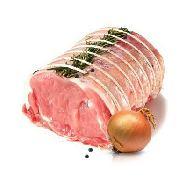 arista di suino senza osso salata pronta da cuocere al kg