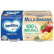 mellin omogenizzato mela banana gr.100x2 dal 4° mese