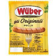 wuber wurstel pollo gr.100