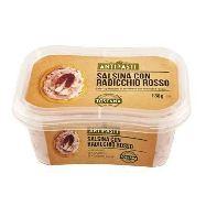 gastronomia toscana salsa con radicchio rosso gr.130