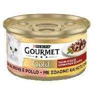 gourmet gold salmone e pollo gr.85
