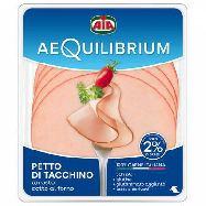 aia aequilibrium petto di tacchino cotto al forno gr.140