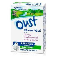 glade oust electric ricarica