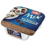 muller mix yogurt bianco e  anelli cioccolato gr.150
