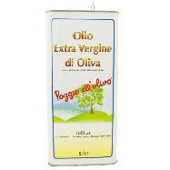 fusi olio extra vergine poggio all'ulivo latta  lt.5