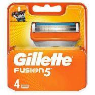 gillette fusion 5  lame per rasoio da uomo 4 ricariche