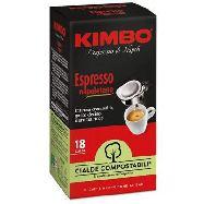 kimbo caffe` 18 cialde espresso napoletano gr.125