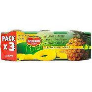del monte ananas al naturale conf. x 3 pezzi gr. 660