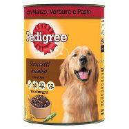 pedigree con manzo verdure e pasta gr.400