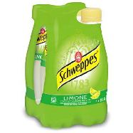 schweppes limone cl.25x4 plastica