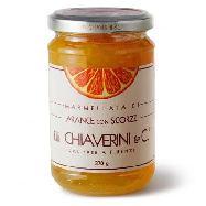 chiaverini marmellata di arance con scorza  gr.370