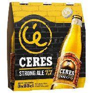 ceres birra strong ale cl.33x3