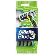 gillette blu 3 sensitive pz.4