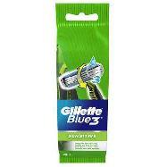 gillette blu 3 sensitive usa e getta pz.4