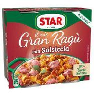 star gran ragu con salsiccia gr.180x2