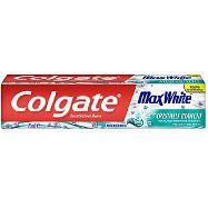 colgate dentifricio max white micro cristalli bianchi  ml.75