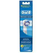 oral b precision clean 2 ricariche per spazzolino elettrico