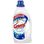 general detersivo lavatrice liquido fresco e brillante  25 misurini
